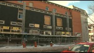 Kingston Frontenac's main library was expected to open this spring after $14 million dollars in renovations, late summer seems more likely according to the project manager (02:12)