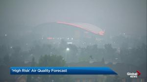 'High risk' air quality statement for Calgary and the province