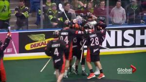 Buffalo Bandits come back to hand Saskatchewan Rush 1st loss of season