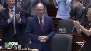 Standing ovation in Queen's Park after court of appeal ruling on Bill 31