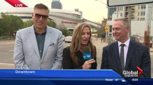 Rogers Place top bosses on official opening of downtown arena