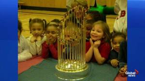 Red Sox bring World Series trophy to Halifax