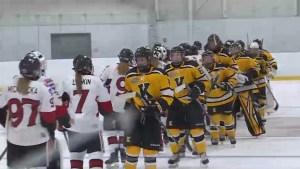 Kingston Ice Wolves showcase hockey tournament