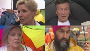 Wynne, Tory, Horwath and Singh attend Pride celebrations (02:14)