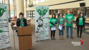 Family of Logan Boulet announce Green Shirt Day 'to honour his legacy'