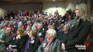 Kelowna council hosts public hearing on supportive housing project (01:23)