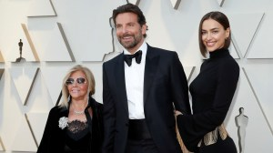 Oscars 2019: Bradley Cooper walks red carpet with his mother Gloria Campano and Irina Shayk