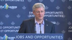 Harper on Israel and Hamas