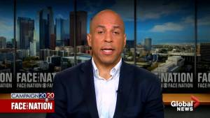 Cory Booker says Trump using race 'like a weapon' to divide Americans (01:25)