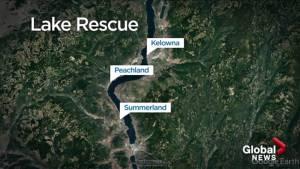 Okanagan man rescued from lake
