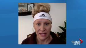 Canadian Olympian Kaillie Humphries on what it means to be fit (01:29)