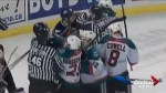 Tri-City Americans take game one against Kelowna Rockets