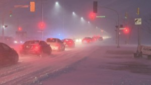 Winnipeg hit with winter storm causing treacherous morning commute