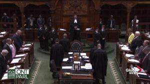 Moment of silence held in Queen's Park for victims of Danforth mass shooting