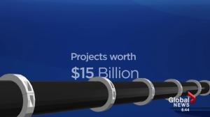 BY THE NUMBERS: A closer look at the Line 3 and Northern Gateway pipelines