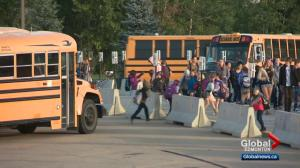 Hundreds of parents west of Edmonton frustrated with school bus issues