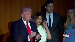Donald Trump introduced for the first time as President-elect