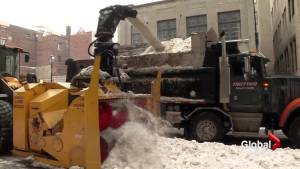 First snow removal operation begins (01:58)