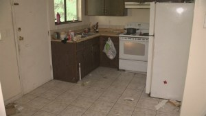 Landlord shows off damage done by 'bad tenants