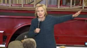 Clinton 'proud' of Obama's new gun control measures