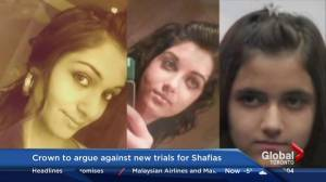 Crown to argue against new trials for Shafia trio in Ontario appeal court