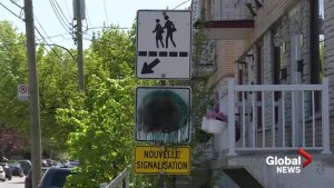 Traffic sign squabble leaves Anjou drivers seeing black