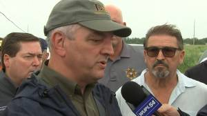 Louisiana governor 'grateful' expected rainfall from Barry didn't happen