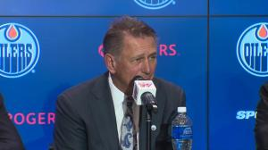 Edmonton Oilers general manager Ken Holland on why he isn't keeping Ken Hitchcock as head coach