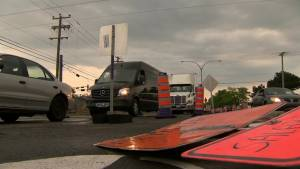 Construction on St-Jean Boulevard causing commuter headaches and delays
