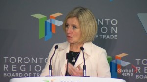 Notley pushes pipelines as new report finds energy investment declining in Alberta