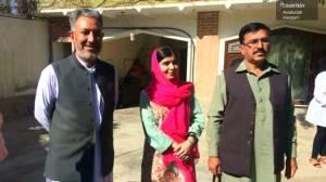 Malala Yousafzai returns to Pakistan for first time since shooting
