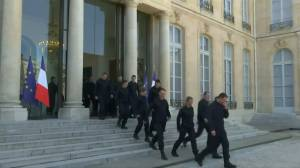 Firefighters who tackled Notre Dame 'honoured' to be recognized by French president Macron