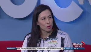 Jill Officer discusses why she's taking a step back from curling
