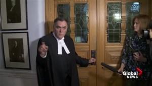 Speaker Darryl Plecas has sharp words for media at B.C. legislature