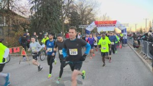 Better Winnipeg: New team joins WFPS Half Marathon for their dads