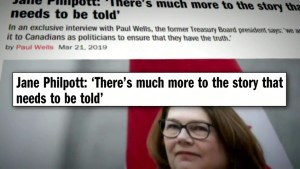 "Philpott says there's ""much more"" to the SNC-Lavalin affair"