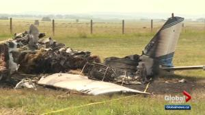 Passenger dead after plane crashes southwest of Calgary