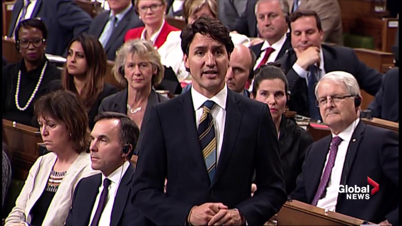 WATCH Opposition Leader asks Prime Minister why there's delay in Canadian tariffs taking effect