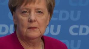 Can Germany's Angela Merkel remain chancellor but not lead party?