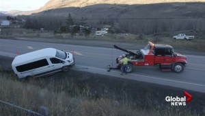 Bus crash near Cache Creek injures volleyball team