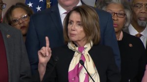 Nancy Pelosi blames Trump for government shutdown: 'happy anniversary Mr. President'