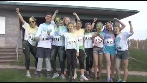 Colours of Hope Peterborough run