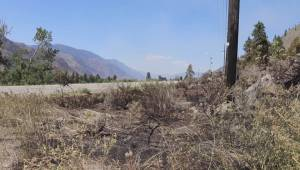 Viewer video of the Richter Mountain wildfire