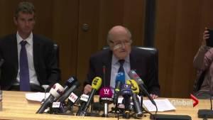 FIFA suspends Sepp Blatter from involvement in soccer
