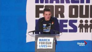 Parkland, Florida student tells U.S. lawmakers 'the voters are coming'