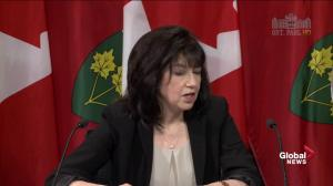 Auditor General won't say if budget difference with government represents fraud on the government's part