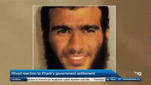 Mixed reaction to Omar Khadr's government setlememt