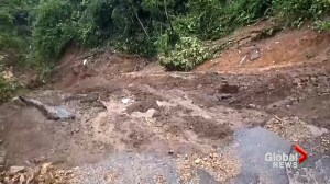 Tropical Storm Nate hits Costa Rica leaving flooding, mudslides behind
