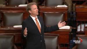 Rand Paul blocks resolution demanding Trump speak with Robert Mueller