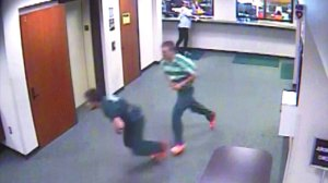 Judge chases inmates escaping courtroom in dramatic video